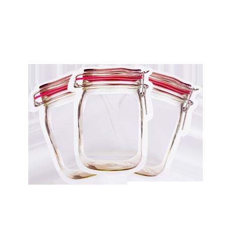 Imagem do produto Kit 3 Potes Zip M