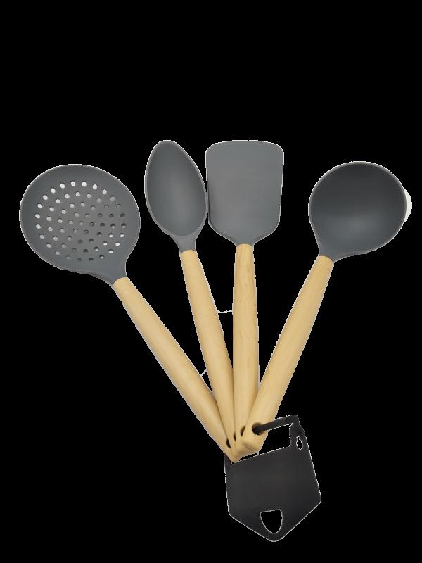 Kit 4 Utensílios de Cozinha