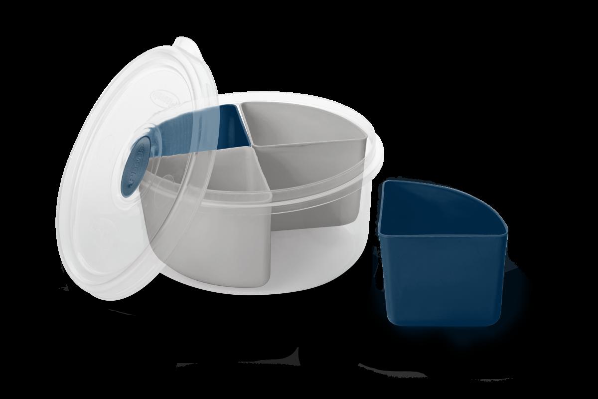 Imagem do produto Marmita 4 Divisórias Removíveis