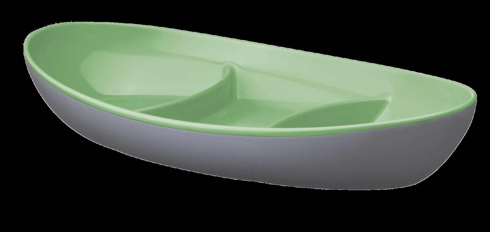 Imagem do produto Petisqueira Oval Bicolor
