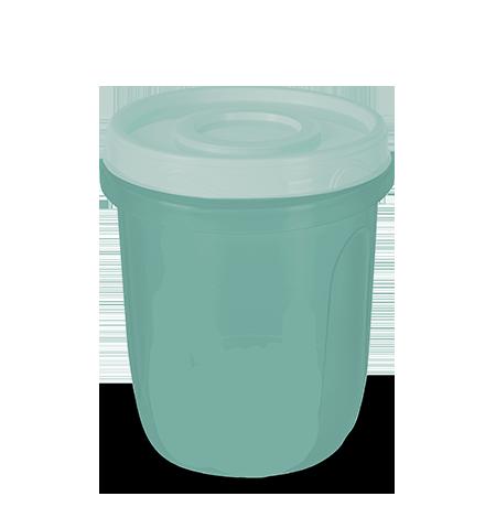 Imagem do produto: Pote com Rosca 1L 5113 - Verde
