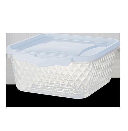 Imagem do produto: Contenedor Cuadrado 1,7L 8300 - Blanco