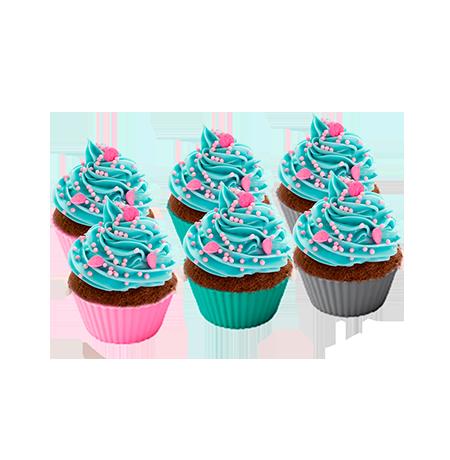 Conjunto Formas de Cupcake