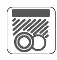ícone caracteristica Permitido lavalozas