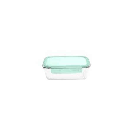 Imagem do produto: Pote Retangular Vidro 0,40L 4600 - Translúcido