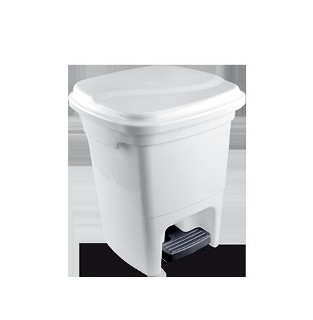 Imagem do produto: Lixeira com pedal 15L 8300 - Branco