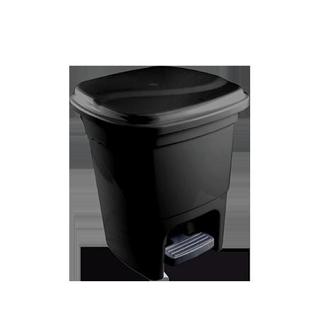 Imagem do produto: Lixeira com pedal 15L 8990 - Preto