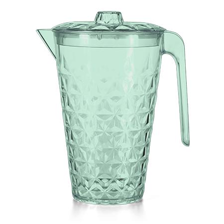 Imagem do produto: Jarra Cristal com Tampa 2L 5242 Verde