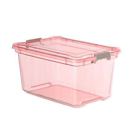 Imagem do produto: Organizador 27L 3079 - Rosa Translúcido
