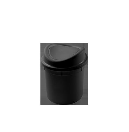 Imagem do produto: Lixeira basculante 2,7L 8990 - Preto