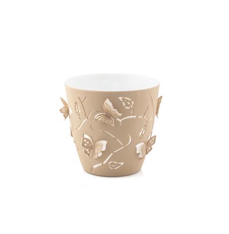 Imagem do produto: Cachepot 3D 0,7L 7505 - Bege