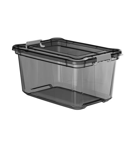Imagem do produto: Organizador 27L 8890 - Cinza Translúcido