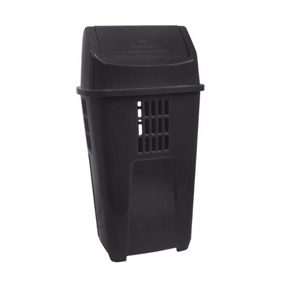 Imagem do produto: Lixeira Recycle 50L 8990 - Preto