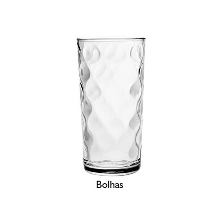 Imagem do produto: Copo Alto com Textura 0,22l 4491 - Bolhas