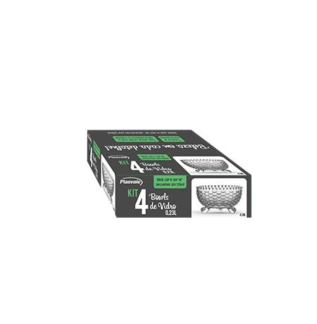 Imagem do produto: Kit 4 Bowls Diamante 0,23L