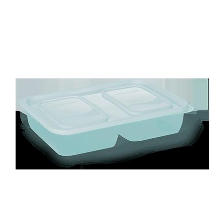 Imagem do produto: Pote 2 Divisórias 1,5L 5113 - Verde