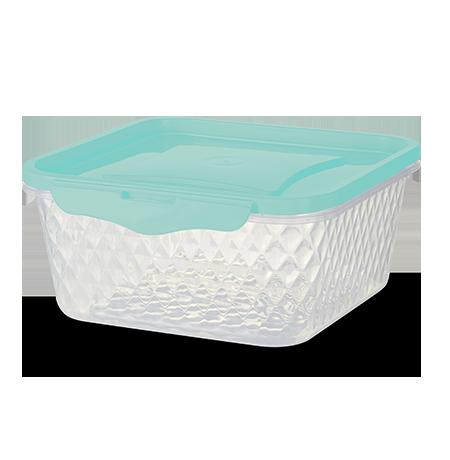 Imagem do produto Pote Quadrado 1,7L