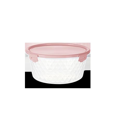 Imagem do produto: Pote Redondo 0,55L 3475 - Rosa
