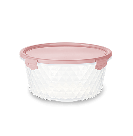 Imagem do produto: Pote Redondo 1L 3475 - Rosa