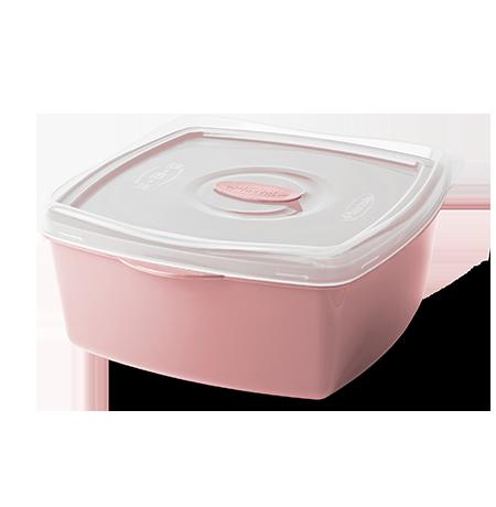 Imagem do produto: Pote Retangular 2,5L 3475 - Rosa