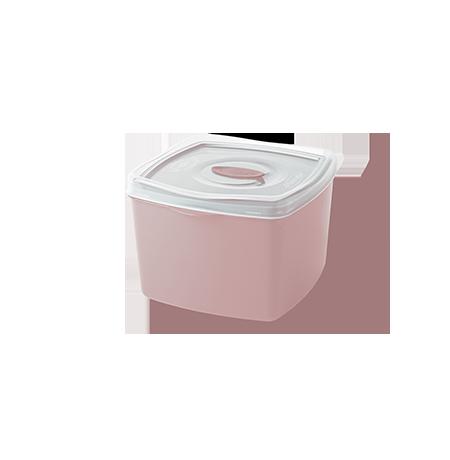 Imagem do produto: Pote Quadrado 0,6L 3475 – Rosa