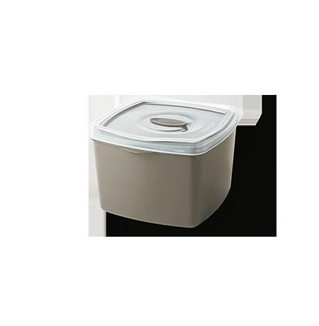 Imagem do produto: Pote Quadrado 0,6L 7745 - Fendi