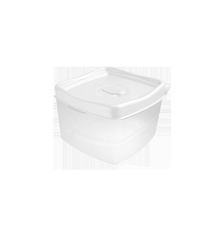 Imagem do produto: Pote Quadrado 0,6L 8300 - Branco