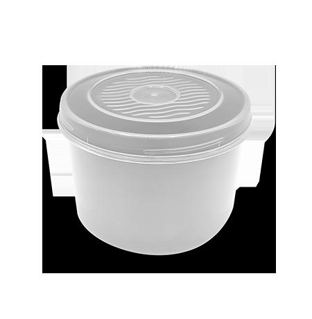 Imagem do produto: Pote com Rosca 0,6L 8300 - Branco