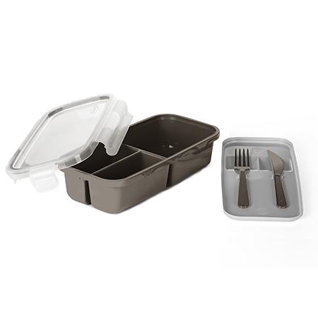 Imagem do produto: 3 partition food storage container 7745 - Fendi