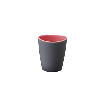 Imagem do produto: Copo Bicolor 0,35L 8102 - Rosa e Cinza