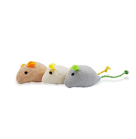Imagem do produto Kit 3 Ratinhos de Pelúcia